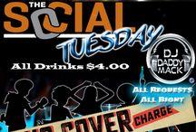 Social Tuesday @  Paparazzi Nightclub Victoria