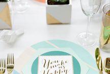 Hochzeitsinspirationen 2016 / Frische und neue Ideen und Inspirationen für das Hochzeitsjahr 2016 / by suess-und-salzig Torten- & Patisserieservice