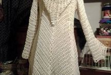 crochet jacket with hood