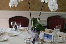 Kukka-asetelmat/pöytäkoristeet