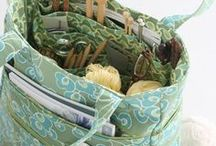 sewing and knitting bags