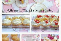 Tea Party Food and Drinks
