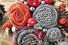 текстильная бижутерия