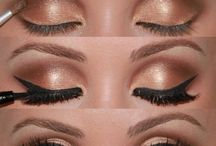 Makeup Ideas! / Makeup and crafts for makeup!! / by Christine Swanson