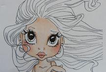 Coloring - Copics - Skin / by Cheryl Thomas Gorka