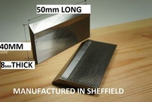 Serrated Cutter Blanks / by Woodford Woodworking Tools and Machines UK.