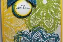 stamping up cards / by Sylvie Morneault