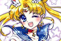 SAILOR MOON / Una serie che ha fatto amare migliori si persone...Sailor Moon e voi che guerriera Sailor siete?