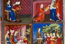 Famous Women / BL MS Royal 20 C V, Des cleres et nobles femmes, De claris mulieribus (On Famous Women), by Giovanni Boccaccio, after 1403 (first quarter of 15C).
