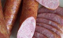 Polish sausage hot smoked