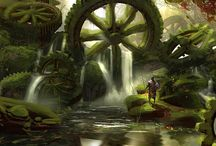 Fantasy World References / Worlds with a fantasy twist :)