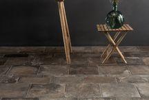 Terra Cotta Inspired Porcelain Floors