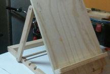 Angled desk