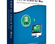 CSV to vCard for Mac Converter