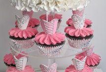 Cap cake e cake topper / E