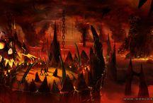 Infierno - Todos Tenemos Uno ! / Como ves el infierno, solo a tu modo, solo dentro de cada uno de nosotros hay un cielo, un infierno, y distintos modos de verlo y sentirlo.
