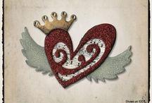 TH Heart Wings (BIGZ DIE)