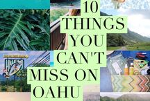 OAHU TRAVEL TIPS + GUIDES