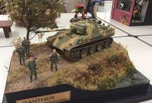 Panther I-II & Jagdpanther (Panzerkampfwagen V Panther, Panzerkampfwagen V Panther II) Scale Models