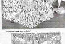 Pletení - ubrusy