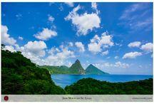 Jade Mountain St. Lucia Wedding / by Chris Schmitt Photography