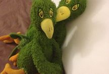 Green chicken rocks! / Green chicken is an alcoholic chicken who happens to live in my house and call me Mooooommmmmm! He is an avid boozer and world traveller. / by Sabryna Cornish