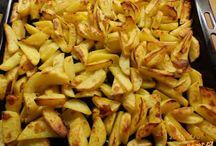 pečené brambory,bramboráky,noky...