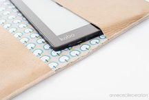 Etui liseuse électronique / couverture et protection en cuir fait-main de liseuses, tablettes, smartphone, ipad, galaxy note....