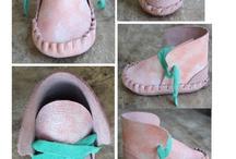 baby schoen roze