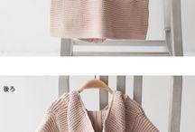 Tricô e crochê / Coisas para netas