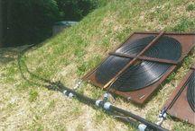 Water heating ideas. / Pool pond heating