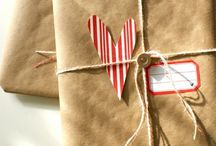Love-wrapping/packaging ideas / by Michèle Guevara