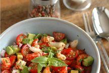 salade avocat tomates