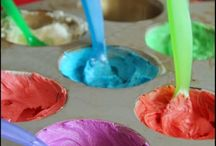 Cupcake decorating with kids