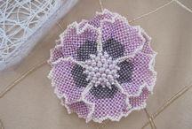 tessitura di perline