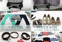 Travel packing hints