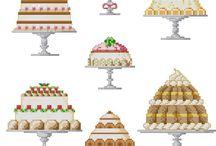 borduren taart