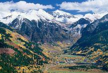 Fabulous mountain backdrop