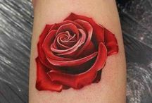 Tattoo Rose / Flowers