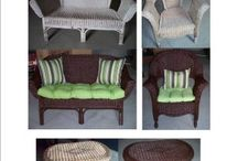 Wicker Furniture Redo