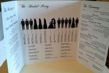 Wedding programs / #luxuryweddingplanner #franceweddings #chateauweddingfrance #weddingceremony #weddinginspirations #corporate #event #planner #corporateeventplannerparis #elegant