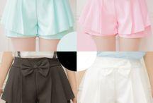 Pastel clothes(kawaii:>)