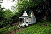 Garden Cottage Love / Ideas for my future little garden cottage studio...