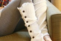 kniting/crochet  boots