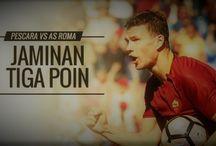 Prediksi Pescara vs AS Roma