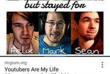 Jack, Mark, Pewds