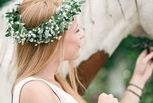 Kwiaty we włosy/ Flowers in hair