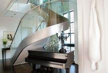 Treppenhäuser / Inspirierende Treppenhäuser / Treppengeländer für Mehr- und Einfamilienhäuser.