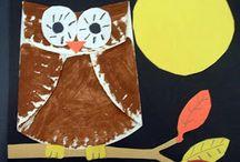 Kuvis Art & crafts PAPER PLATE / Ideoita alkuopetukseen paperilautanen