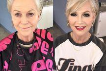 Makeup for mature woman